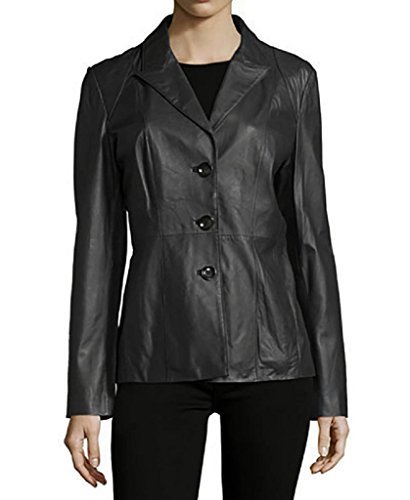 neiman-marcus-womens-leather-blazer-black-m