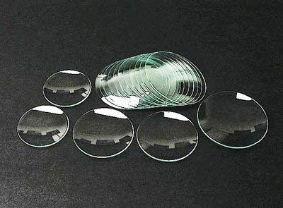 United Scientific WGL065 Clear Flint Glass Watch Glass, 65mm Diameter (Pack of 12)