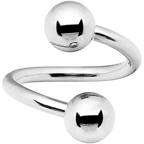 Ball Spiral Twister Ring - 4