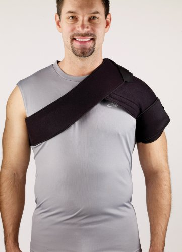 Corflex CRYOTHERM SHOULDER WRAP W/2 GELS GREY - Fits up to 48
