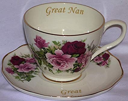 Nan gift cup and saucer