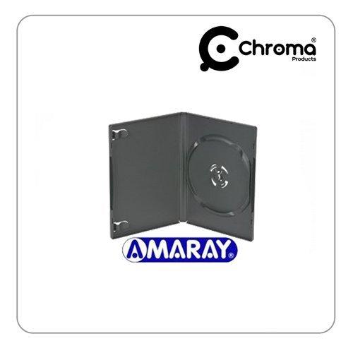 Amaray - Pack de 50 estuches para DVD (lomo de 14 mm), color ...