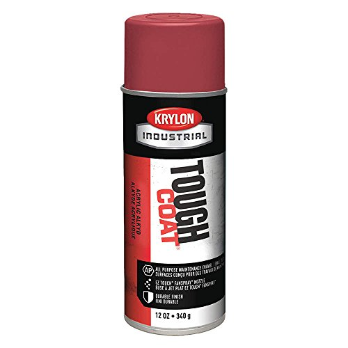(Krylon Industrial Tough Coat 10038 International Harvester Red Gloss Acrylic Enamel Paint - 16 oz Aerosol Can - S01003 [PRICE is per CAN])