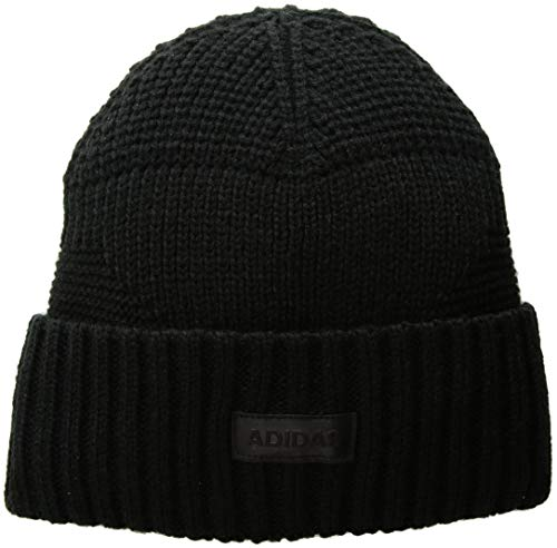 adidas Men's Pine Knot Beanie, Black, One Size