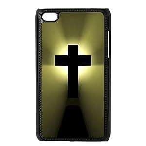 Custom Cross Back Cover Case for ipod Touch 4JNIPOD4-103