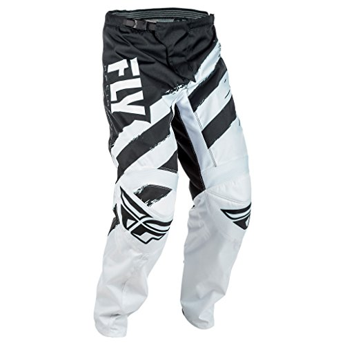 - Fly Racing Men's Pants (Black/White, Size 26)