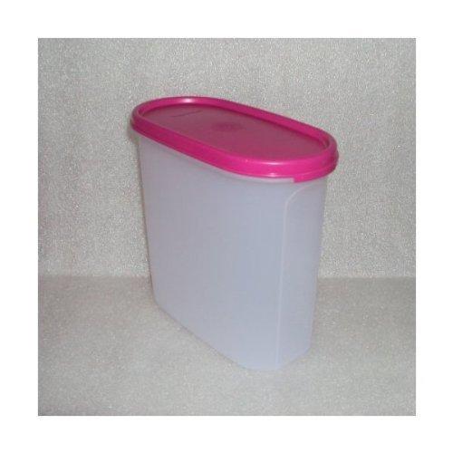 Tupperware Modular Mates Oval #3 Fuchsia Pink Seal