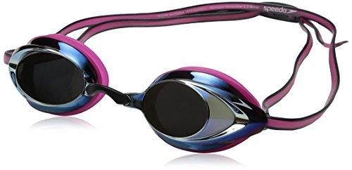 Speedo 7750129-Magenta-1SZ Women's Vanquisher 2.0 Mirrored Goggles, Magenta, One - Womens Goggles