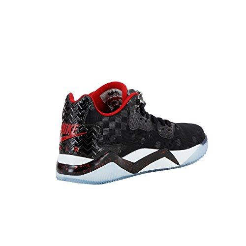 Nike Nero Black Basket Gym Rosso Low Spike Air Grey Red Gry da Scarpe Forty Grigio Uomo Jordan wolf cl rwvqrxRzf