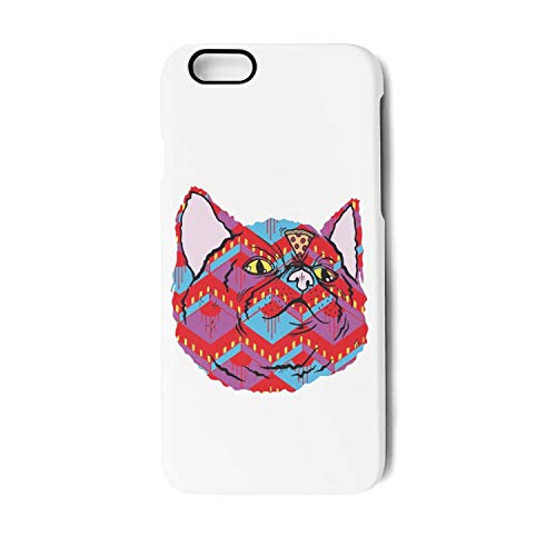 (Cat-Super Pizza Cat TPU Phone Case for iPhone 7plus/8plus Unisex Printted Shock-Absorbing Back Cover)
