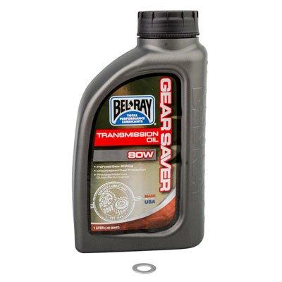 Tusk Transmission Oil Change Kit Bel-Ray Gear Saver 80W - Fits: Suzuki RM250 1998-2008