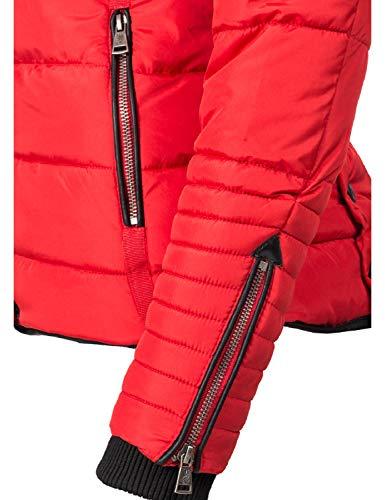 5 Laureen Invernale Rosso Xs Trapuntata Donna Colori Da Marikoo xl Giacca fFwqdYY