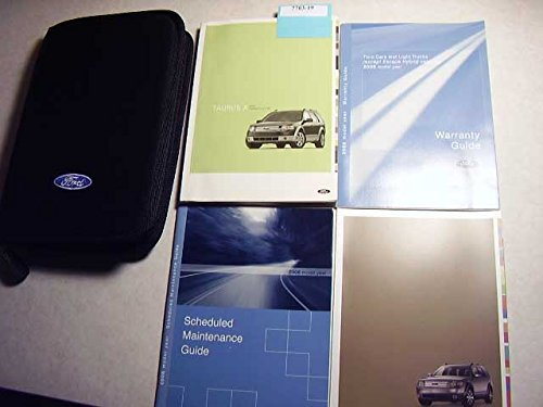 2008 Ford Taurus X Owners Manual -