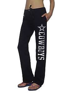 Pink Victoria's Secret NFL Dallas Cowboys Womens Cotton Pajama Pants L Dark Blue