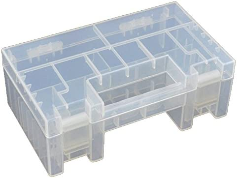 1pc Plástico Caja de Batería Almacenamiento para AA AAA Pilas: Amazon.es: Hogar