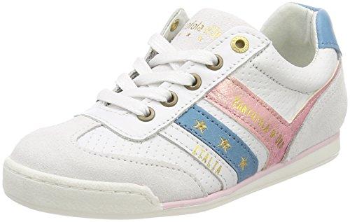 Pantofola dOro Vasto Ragazze Low, Zapatillas Para Niñas Blanco (Bright White)