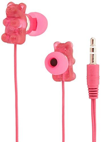Gummy Bear 11024-RASB Raspberry Scent Gummy EarBuds