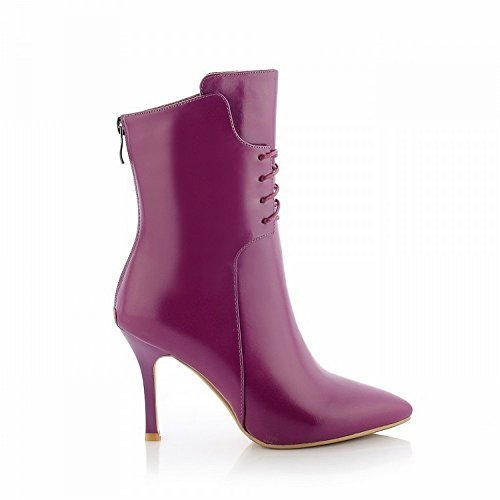 Stivali Viola da Donna Tacco in con con Multa End High Donna 37 Alto End Scarpe Appuntite da High DIDIDD dT7Cqd