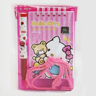 Sanrio Hello Kitty Memo Pad with Ball Point Pen : Teddy Bear