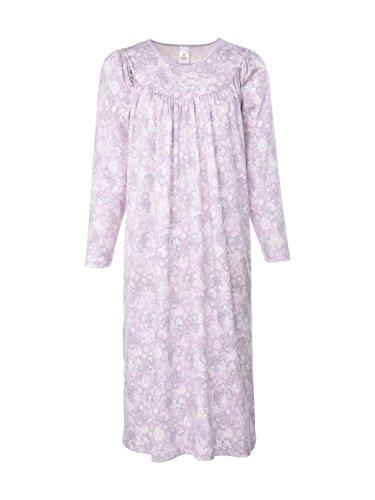 Calida - Chemise De Nuit - Manches Longues Femme -  Rose - Large
