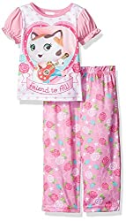 Disney Toddler Girls' Sheriff Callie 2pc Pajama Pant Set, Pink, 2t
