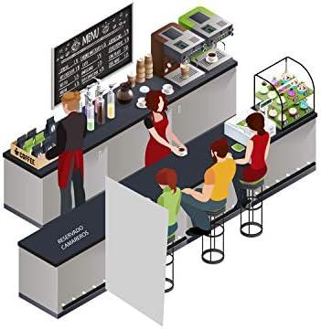 MAMPARA SEPARADORA DE PROTECCIÓN PARA INDUSTRIA, GIMNASIOS, BARES, PELUQUERÍAS, HOTELES, FABRICAS. (100 X150 Cm): Amazon.es: Oficina y papelería