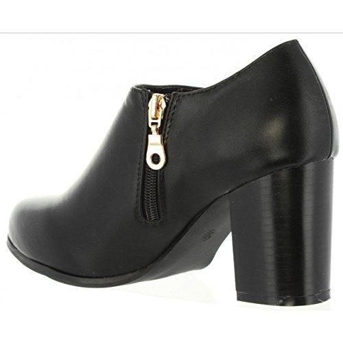 URBAN Zapatos de tacón de Mujer B090700-B6600 BLACK