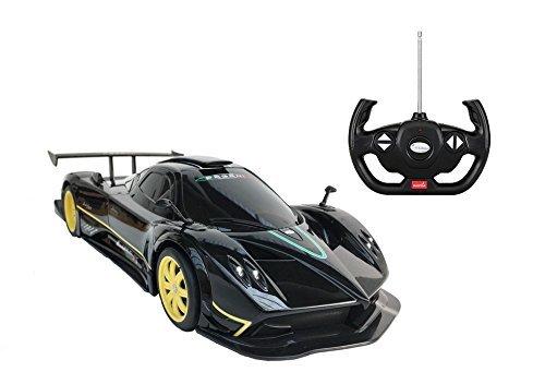 Zonda Front Wheel - Radio Remote Control 1/14 Pagani Zonda R Licensed RC Model Car (Black)
