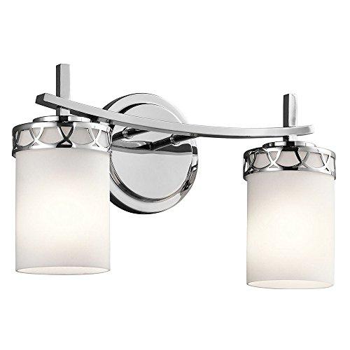 Kichler 45585CH Two Light Bath by Kichler