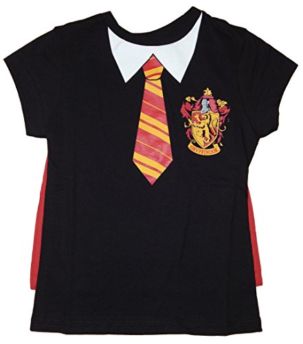 Harry Potter Hogwarts School Uniform Costume T-shirt for Girls (M) (Hogwarts School Uniform)