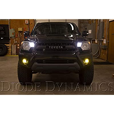 SS3 LED Fog Light Kit for 2012-2015 Toyota Tacoma, White SAE/DOT Fog Pro: Automotive