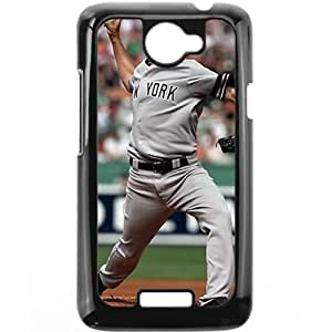 MLB&HTC One X Black New York Yankees Gift Holiday Christmas Gifts cell phone cases clear phone cases protectivefashion cell phone cases HABC605584322