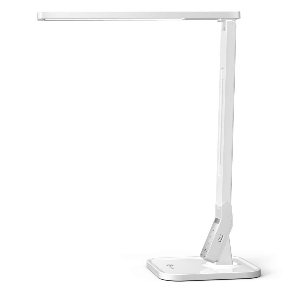 TaoTronics LED Desk Lamp with USB Charging Port, 4 Lighting Modes with 5 Brightness Levels, 1h Timer, Touch Control(Renewed) by TaoTronics