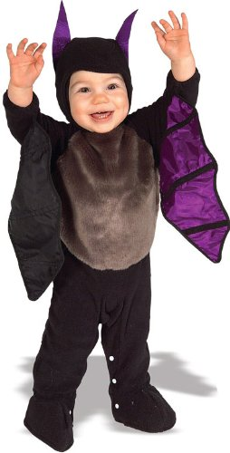 Rubie's Costume EZ-On Romper Costume, Lil' Bat, 6-12 Months