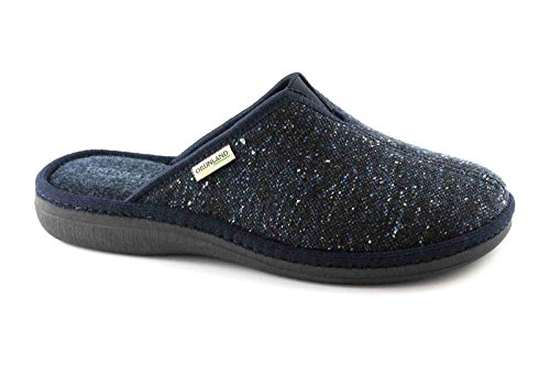 Grunland - Zapatillas de estar por casa para hombre azul Azul