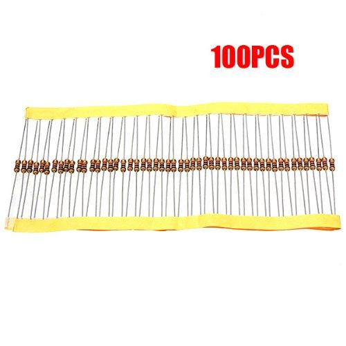 (SODIAL(R) 100 PCS 1/4W 0.25W 5% 1 K OHM Carbon Film Resistor 1st Class Postage)