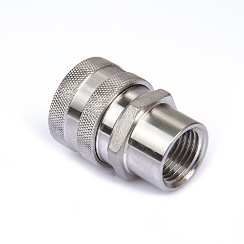 (Home Brewing Female Quick Disconnect 304 Stainless Steel 1/2