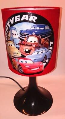 NoirLuminaires Et Lampe Rouge De Chevet Enfant Cars E2H9DWIY