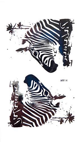 zebra animal temporary tattoo wholesale face decor body body makeup art