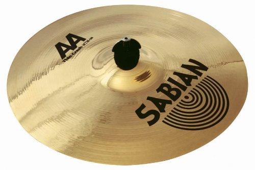 Aa Thin Crash Cymbal (Sabian 21506B 15-Inch AA Thin Crash Cymbal, Brilliant)