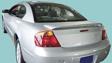 Volvo S60 Rear Spoiler (Volvo S60 Rear Spoiler 2001 2002 2003 2004 2005 2006 2007 2008 - Painted - 614 Ice White/Iced White)