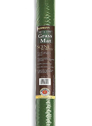 - Bachmann Industries 32903 Grass Mat - Meadow (100