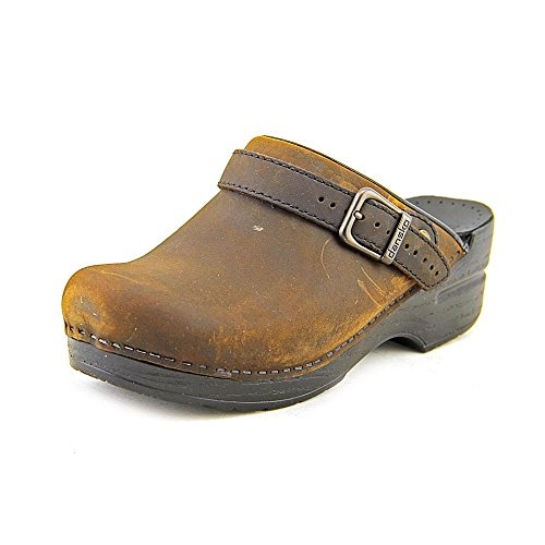 Dansko Womens Ingrid Box Antique Brown - 36 M EU by Dansko
