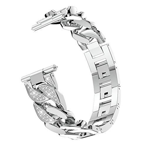 UKCOCO Bling Band for Fitbit Versa, Sparkle Diamond Rhinesto
