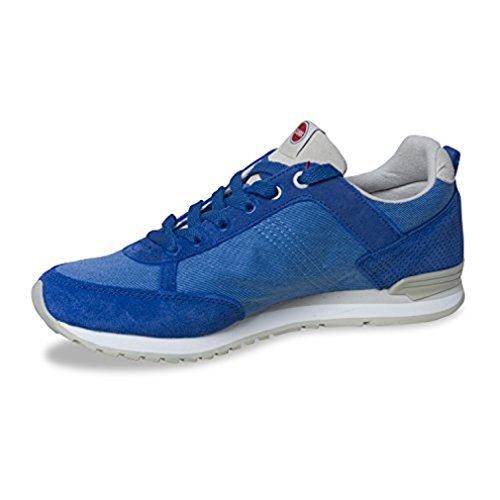 COLMAR Sneaker Flach für Herren Travis 009 - von Schnürrschuh Blau Freizeit Outdoor Frühling-Sommer