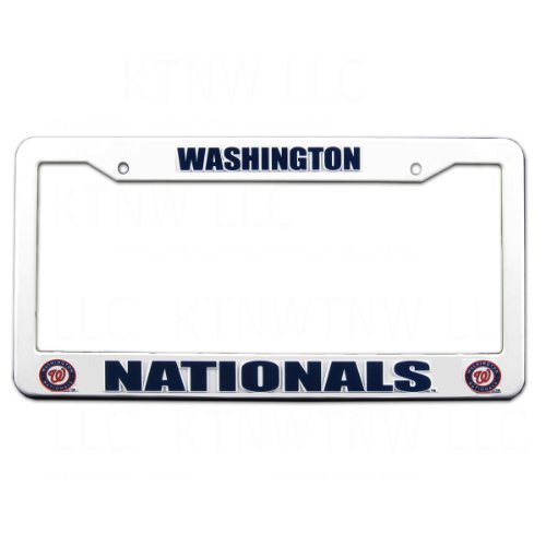 Washington Nationals License Plate Nationals License