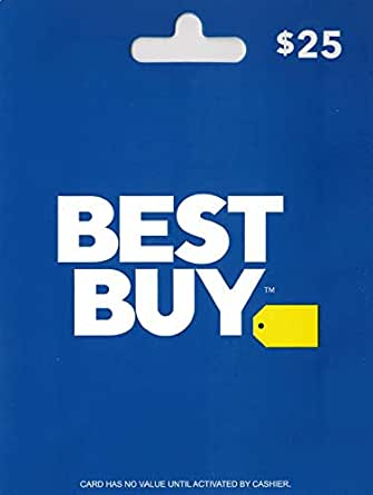 Amazon.com: Best Buy Gift Card $25: Gift Cards