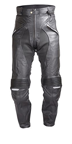 Leather Motorcycle Pants For Men - 9