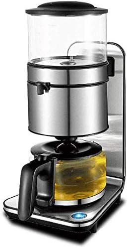 NO BRAND Máquina de café, con un Solo botón Filtro Cafetera, Anti ...