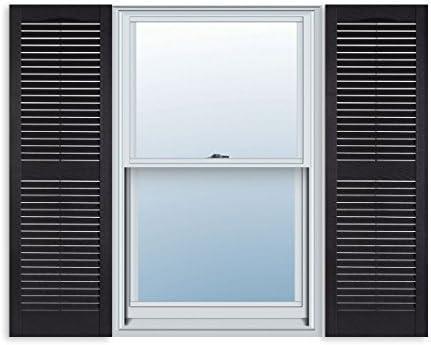 Amazon 15 Inch X 55 Inch Standard Louver Exterior Vinyl Window